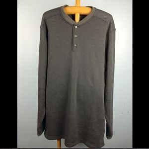Mens L Exofficio Sweater Shirt